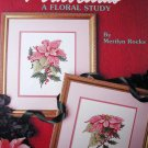 Poinsettias, A Floral Study Leaflet 900 Cross Stitch