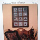 Fanci That HEIRLOOMS American West Collection Cross Stitch