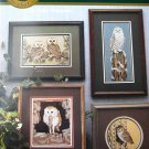 The Night Watch Cross Stitch Owl Bird by Livingston