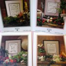4 Shepherds sampler Garden Series Cross Stitch