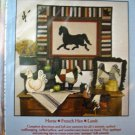 Country Folk Animals 2 Sewing Patterns craft Horse