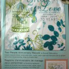 Dimensions Needlecrafts Embroidery Kit, Two People Anniversary Record