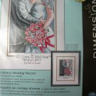 Dimensions Cross Stitch Kit, Embrace Wedding Record