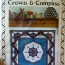 Cory's Crown & Compass Quilt Pattern OOP