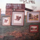 In The Country with Robert Mills Cross Stitch Pattern Book