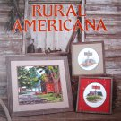 Cross Stitch Leaflet Jim Harrison's Rural Americana 1983 OOP