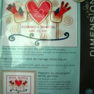 Dimensions Embroidery Kit Soul Mates Anniversary Record