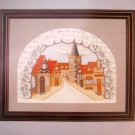 An English Village by Gibson Serendipity Designs Cross Stitch