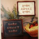 Home Sweet Home Cross Stitch Leaflet Emery Carolyn