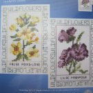 Wildflower Duet Counted Cross Stitch Kit by Janlynn