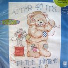 Patch Patch Patch Bear Cross Stitch Kit Janlynn