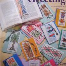Bookmark Greetings Cross Stitch by Carol Mansfield