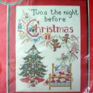 Christmas Dream Cross Stitch Stamped KIT rare paragon