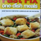 Fast Fix One Dish Meals by Better Homes and Gardens Cookbook