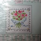 Bucilla Cross Stitch Kit Pretty Posies Dean's Closet