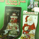Best of Stoney Creek Stockings II Christmas Cross Stitch