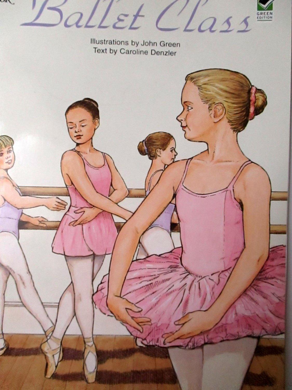 Ballet Class Coloring Book Dover Fashion Coloring by John Green