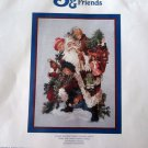 Santa & Friends Counted Cross Stitch Chart 2004  The Vermillion Stitchery Giampa