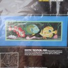 Dimension NO COUNT cross stitch kit NEW Exotic Tropical Fish Dimensions Craft