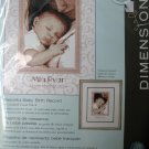 Dimensions Crafts 70-73992 Peaceful Baby Birth Record Counted Cross Stitch Kit