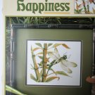 Dragonfly Happiness cross stitch pattern by Leisure Arts and Buckley