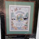 Protect the Beautiful Places Cross stitch Stamped Kit Bucilla
