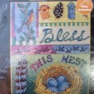 Cross Stitch Picture Kit Bless This Nest Bucilla