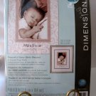 Dimensions Peaceful Baby Birth Record Counted Cross Stitch Kit,