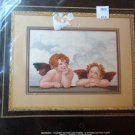 janlynn HEAVENLY CHERUBS Counted Cross Stitch Kit ANGELS Babies