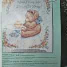 DIMENSIONS STAMPED CROSS STITCH KIT SWEET PRAYER QUILT 34X43 SEALED BABY