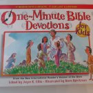 One Minute Bible Devotions for Kids Hardcover by Joyce K. Ellis