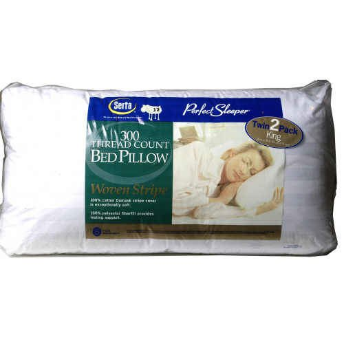 Serta Perfect Sleeper 300ct Bed Pillows - KING ( 2 Pk.)