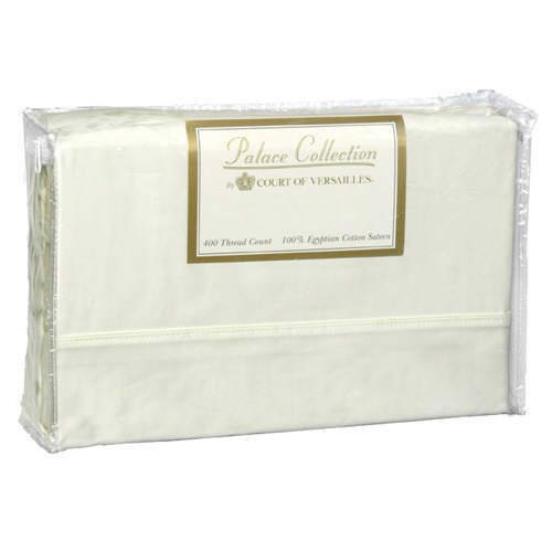 Springs Bath Fashion - 400 TC Bed Sheet Set  (Cream)