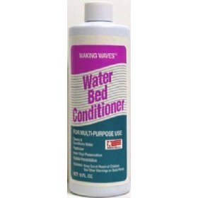 6 Bottles (16oz.) - Making Waves Waterbed Conditioner ( Full or Waveless )