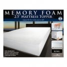 "Memory Foam Mattress Topper (2.5"") - KING"
