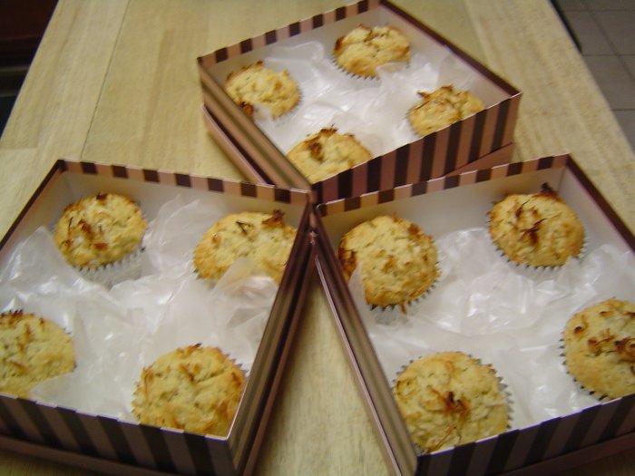 Coco Banana Muffins