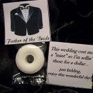 100 PERSONALIZED WEDDING MINT TOPPERS FAVORS