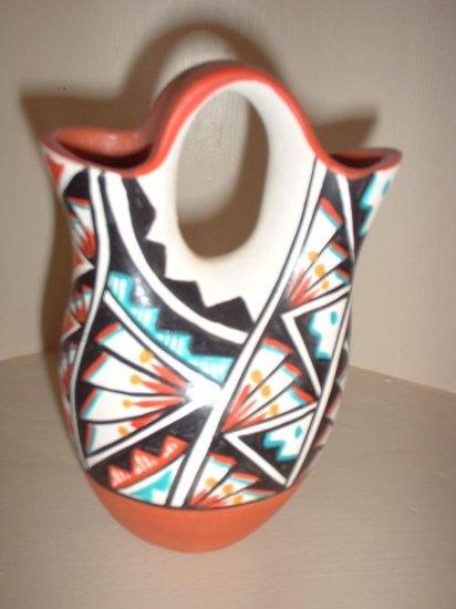 Native American Indian Wedding Vase