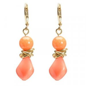 Earrings Gold Tone #25298