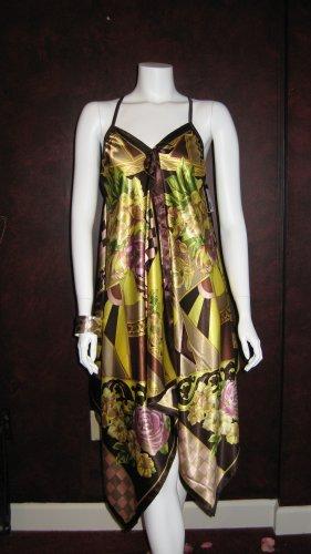 Long Silk Sun dress
