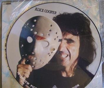ALICE COOPER Interview Picture Disc Album Vinyl LP-1989