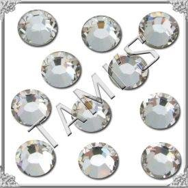 20ss 144 Swarovski HOT FIX Flat Back 2028 Crystal Clear