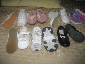 LOT OF infant shoes sz 3c