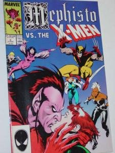 #3 MEPHISTO vs. The X-Men Comic Book Magazine Volume 1 1987