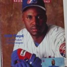 BECKETT #110 Baseball Card Book May 1994 Floyd & Johnson