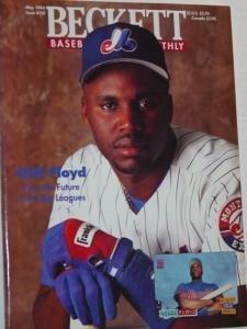 BECKETT #110 Baseball Card Book May 1994 Floyd & Johnson