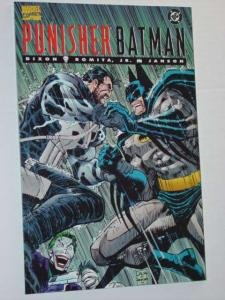 PUNISHER BATMAN Comic Book Dixon, Romata, Janson Marvel 1988
