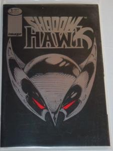 #1 WHO IS THE NEW SHADOWHAWK Foil Image Comic Book 1992