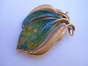 Sauteur Renoir MATISSE Golden Glow Brooch Pin RARE