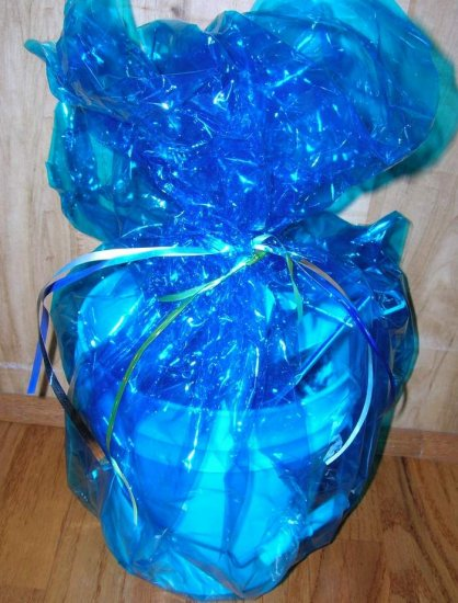 """Fishing Gift Basket Filled with Tackle, """"Moby Dick"""""""